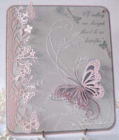Note multi layered butterfly focal
