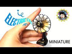 "(ENG)미니어쳐 바람이 솔솔~ ""진짜 선풍기"" 만들기 (on, off ㅇㅋ) Miniature DIY - Real Electric fan /미미네 미니어쳐 ミミネミニチュア - YouTube"