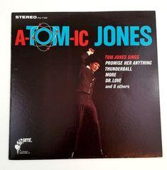 Tom Jones  A-tom-ic Jones Vinyl Record LP Album PAS 71007 Stereo Parrot 1966 #PopRock Tom Jones, Pop Rock, Lp Album, Vinyl Records, Parrot, Albums, Singing, Toms, Ebay