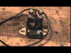 How to Test lawn Mower Solenoids - YouTube