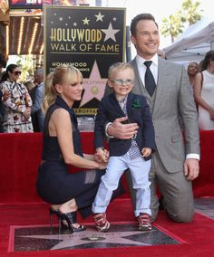 Hollywood Walk Of Fame, In Hollywood, Hollywood California, Chris Pratt Shirtless, Chris Pratt Anna Faris, Divas, Katherine Schwarzenegger, Cinema, Star Wars