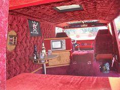 custom 70's van interior - Google Search