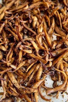 King Oyster Mushroom Recipe, King Mushroom, Mushroom Recipes, Mexican Food Recipes, Whole Food Recipes, Vegetarian Recipes, Vegetarian Tacos, Carnitas Tacos, Carnitas Recipe
