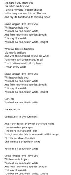 Beautiful in white - Shane Filan Music Lyrics, Lyric Quotes, Love Quotes, Inspirational Quotes, Westlife Lyrics, Shane Filan, You Look Beautiful, Music Like