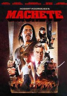Machete--Set up, double-crossed and left for dead, Machete (Danny Trejo) is an ass-kicking ex-Federale who lays waste to anything that gets in his path. As he takes on hitmen, vigilantes and a ruthless drug cartel, bullets fly, blades clash and the body count rises. Any way you slice it, vengeance has a new name--Machete.