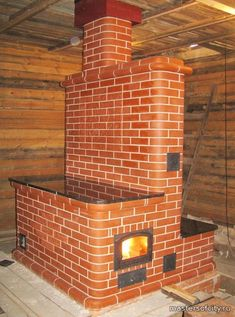 Built In Ovens, Stove Oven, Stove Fireplace, Geometry Art, Rocket Stoves, House Inside, Small House Design, Living Room With Fireplace, Rustic Kitchen