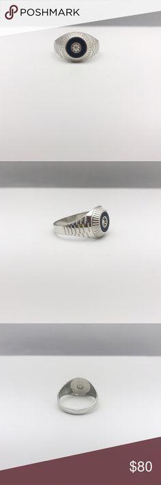 Black Onyx Ring Black Onyx Ring Materials: Black Onyx // 925 Silver Accessories Jewelry
