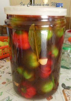 Peperoni sottaceto-ricetta | In cucina con Mire