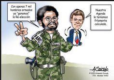 Prefiero a un Zuluaga asesorado por Uribe en temas de defensa, que a un Santos asesorado por Márquez en temas de paz.