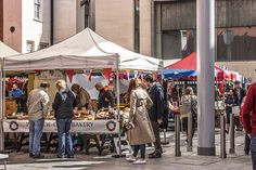 Weekend Market At Meeting House Square In Temple Bar (Dublin)