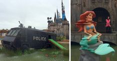 Banksy's Dismaland: Take A First Look Inside Nightmare Version Of Disneyland   Bored Panda