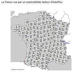 La France vue par un automobiliste lecteur d'Autoplus !
