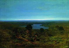 Lake. Evening - Kuindzhi Arkhip - WikiArt.org - the encyclopedia of painting - WikiArt.org - the encyclopedia of painting