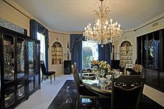 Graceland: Das Esszimmer/The dining-room by Petra E., via Flickr #Elvis #Graceland