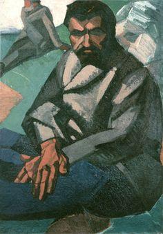 Father by Vladimir Burluk (1910, priv. coll., Munich)