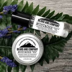 Beard and Company's Mustache Growth Kit comes with a growth balm and oil specially formulated for 'staches. Made with premium organic ingredients in Colorado. Beard Shampoo, Beard Conditioner, Beard Growth Tips, Mustache Growth, Natural Beard Oil, Natural Hair, Liquid Coconut Oil, Patchy Beard, Growth Oil