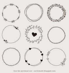 Tutorial - Hand Drawn Wreath Download