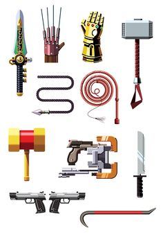 Famous Weapons 2