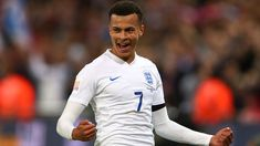 The Three Lions will be missing the Tottenham midfielder, who has sustained a hamstring injury, for the two marquee friendlies at Wembley. Dele Alli, Tottenham Hotspur Fc, World Cup 2018, Lions, Liverpool, All Star, Sweden, Chef Jackets, Two By Two