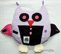 Owl pillow toy Owl Pillow, My Works, Pillows, Toys, Blog, Activity Toys, Owl Pillows, Clearance Toys, Blogging