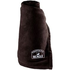 Beagle - Property Of A Beagle - Large Fleece Blanket