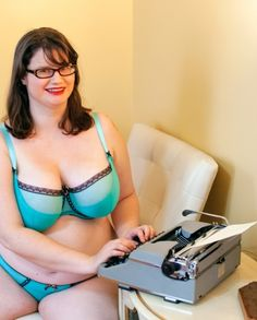 Nichole featuring plus size lingerie for the fuller bust.