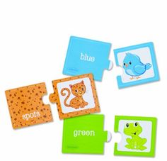 $11.99 Infantino Colors Textures Puzzles. This set of 20, two piece puzzles will help children to develop matching and problem solving skills. 1.6 pounds