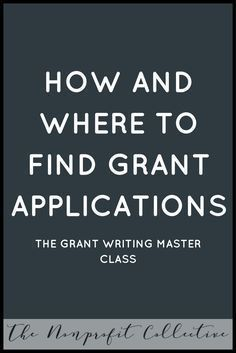 Learn how to write grants through this Grant Writing Master Course! You& learn everything you need to know to get started grant writing for nonprofits. Financial Aid For College, Scholarships For College, College Grants, School Scholarship, Grant Writing Courses, Business Grants, Business School, Business Ideas, Business Money