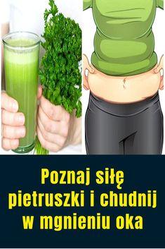 Szklanka tego każdego ranka oczyścić krew i pozwoli Ci schudnąć! Parsley, Detox, Food And Drink, Herbs, Drinks, Fitness, Drinking, Beverages, Herb
