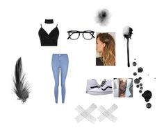 """""""for anything"""" by chewygames138 on Polyvore featuring Boohoo, New Look and Vans"""
