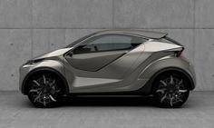 Lexus LF-SA Concept: stadsflitser van de toekomst