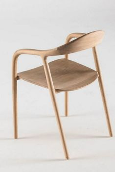 NEVA Wooden #chair with armrests by Artisan