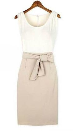 colorblocking dress perfect for day and night