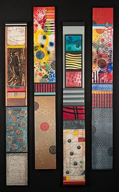 Janet O'Neal - 2D Mixed Media/Four Panels