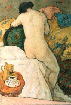Nicolae Tonitza - In iatac Art Gallery, Art Painting, Figure Painting, Painting, Female Art, Human Figure Drawing, Art, Art History, Aesthetic Art