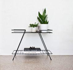 Mid Century Modern Metal Table