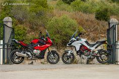 Comparativo BMW S1000XR / Ducati Multistrada 1200S - Test drives - Andar de Moto