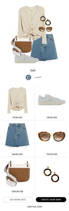 knit - Fashion look Fashion Now, Teen Fashion, Fashion Outfits, Fashion Trends, Korean Fashion Kpop, Casual Outfits, Cute Outfits, Passion For Fashion, Autumn Winter Fashion