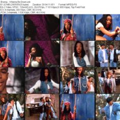 "Brandy ""I wanna be down"" video Scene capture"