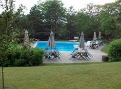 Heated Outdoor Salt Water Pool