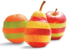 Healthy & colorful treat!  Can't help myself - this is just a cute way to decorate an Eid Party the healthy way!