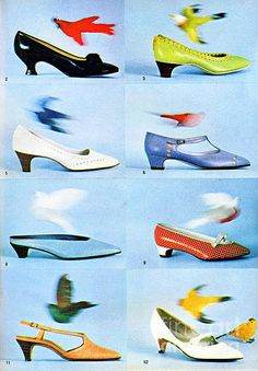 1960 70 Ladies Shoes Advertisement 2