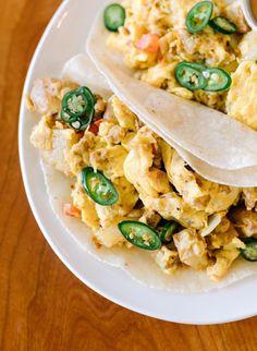 Paleo Chorizo Breakfast Tacos from Picnik in Austin!