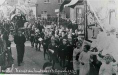 0213661 Coll. Chr. Warnar 1939: Aankomst zusters in Ommel.