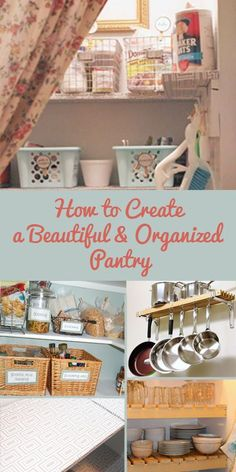 Love these pantry organizing ideas! #spon