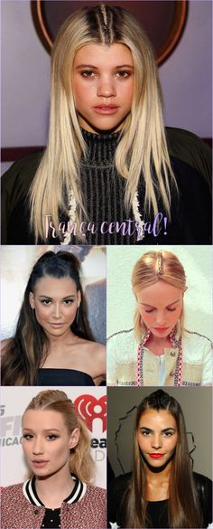 A trança central é a queridinha da vez das famosas. Veja como elas usam e adote esse novo penteado.