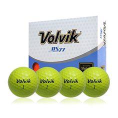 Volvik 12-pk. DS77 Golf Balls, Yellow