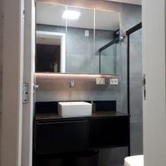 Bathroom Lighting, Mirror, Furniture, Home Decor, Granite Stone, Bath Room, Architecture, Homemade Home Decor, Bathroom Vanity Lighting
