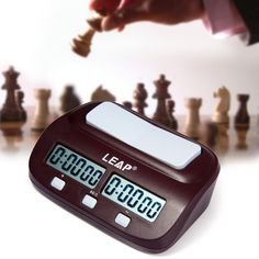 Cheap leap chess clock, Buy Quality timer clock directly from China timer digital clock Suppliers: Upgrade!Novelty Practical LEAP Digital Professional Chess Clock I-go Count Up Down Timer for Game Competition Hot Sale Magnus Carlsen, Countdown Clock, Countdown Timer, Digital Timer, Digital Watch, Digital Board, Count Up Timer, Competition Games, Led Board