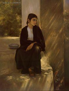Iman Maleki painting
